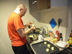 Dave starts making cookies