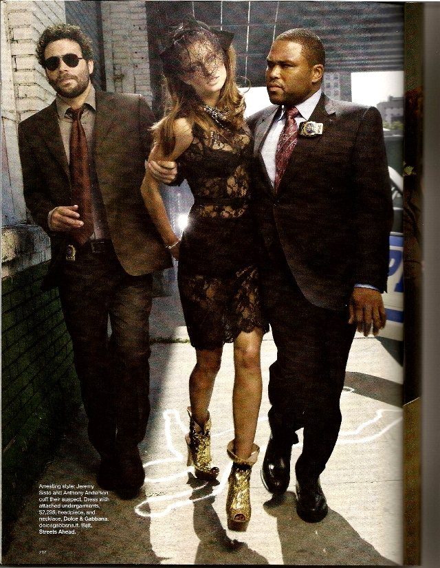 Crime of fashion - Harper's Bazaar  - Nov. 2009 (2)