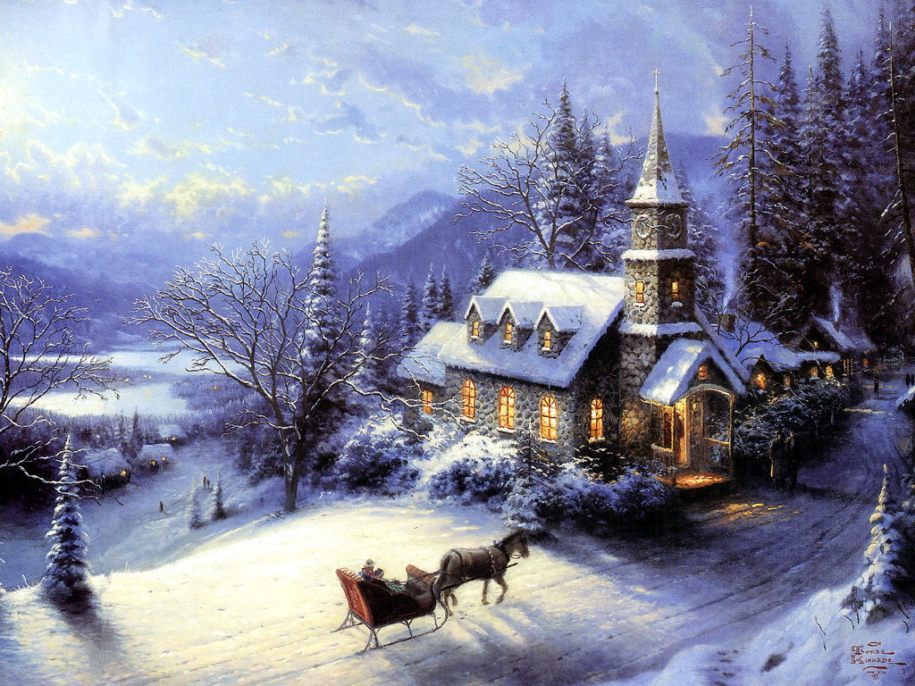 Pics_-_Christmas_-_Thomas_Kinkade_-_I_ll_Be_Home_For_Christmas_10