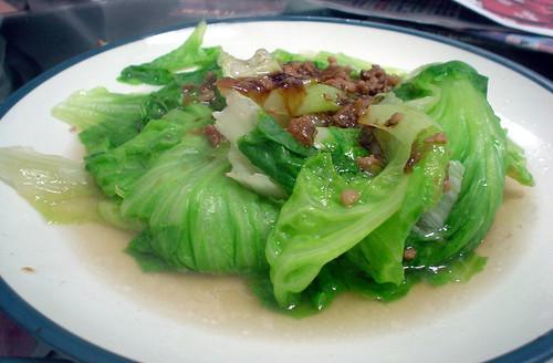 43.清水任家擀麵:燙青菜