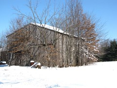 Lititz Snow Rustic Barn 1 (Mr.J.Martin) Tags: morning winter shadow sun snow storm nature weather barn forest sunrise woods pennsylvania country snowstorm lancastercounty badweather winterstorm lititz winterweather kisselhill rusticbarn warwicktownship