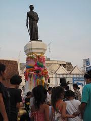 Khorat: Statue of Ying Mo