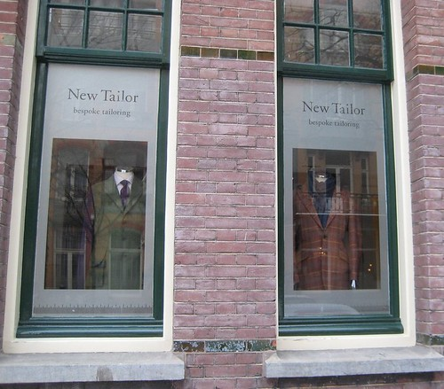 New Tailor storefront