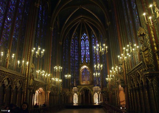 Chapelle haute de la Sainte Chapelle