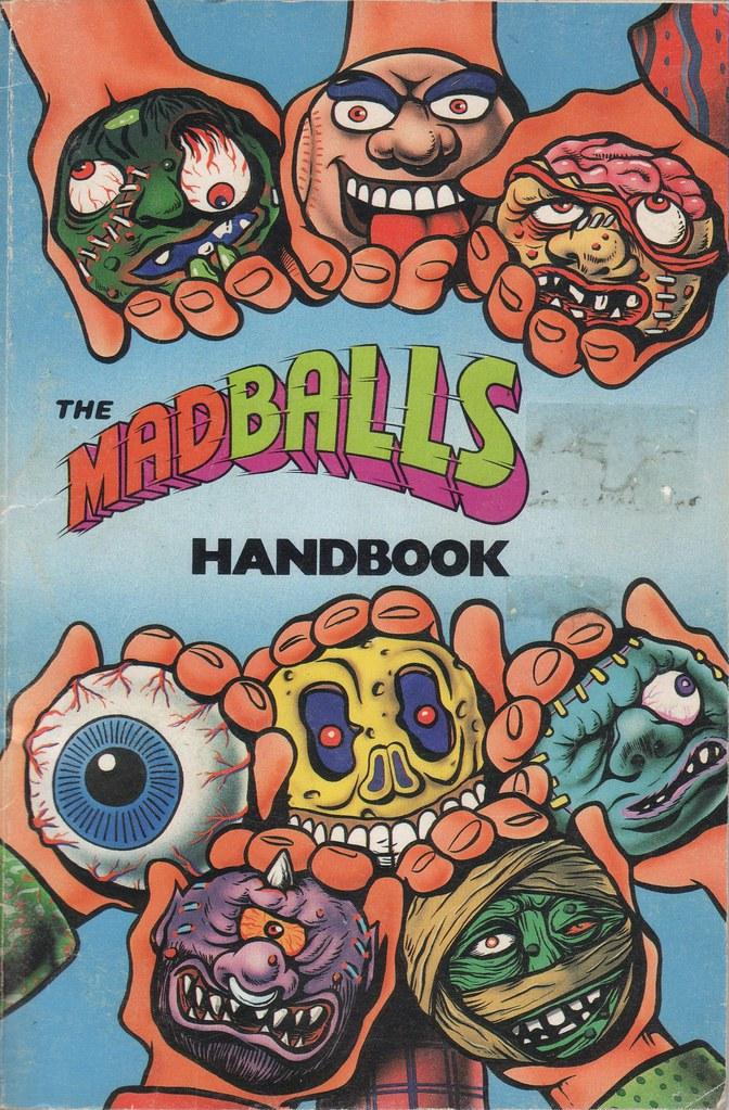 Madballs Handbook Cover, 1986