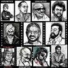 RAJNIKANTH to MICHAEL JACKSON PORTRAITS