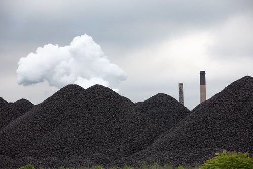 Coal on Zug Island