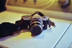 New Toy (lola smalls) Tags: 35mm nikon nikomat nikkormat vintageslr vintagephotography