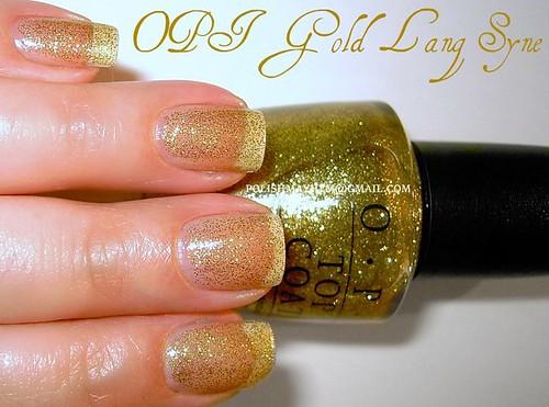 OPI Gold Lang Syne
