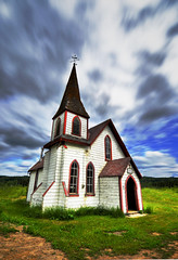 (stephenmdensmore) Tags: old motion church nikon hdr