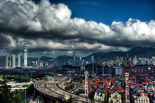 Big clouds over Hong Kong... by Gary Wong Photography, on Flickr