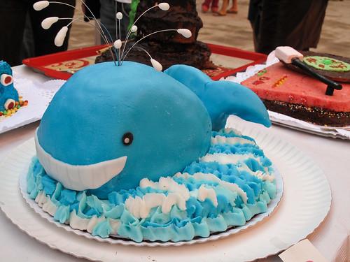 El pastel de ballena quedó ganador
