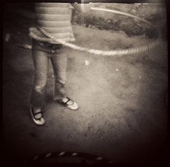 the great hula hoop experiment- part 1 (Laura Burlton - www.lauraburlton.com) Tags: film feet girl houston dianaclone hulahoop blackandwhitefilm lifestylephotography fineartportrait lauraburlton lastconcertcafe shakeypizza houstonchildphotographer ilforddewlta3200 darkroomdiy