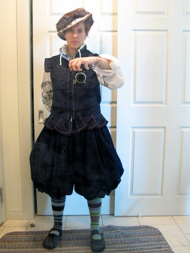 Navy suit - doublet and trunk hose