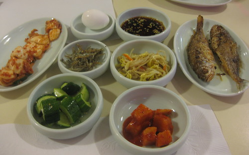 My Tofu House in San Francisco - banchan for 2