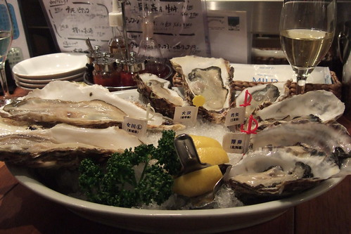 Image: Oyster Tasting