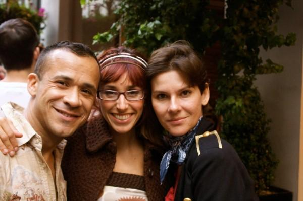 Alicia, Founder of Braziliality (Centre)