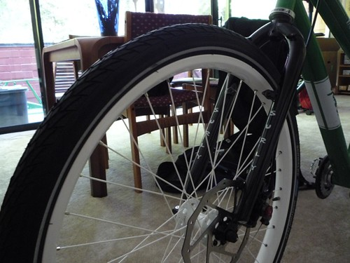 Front Wheel and Fork