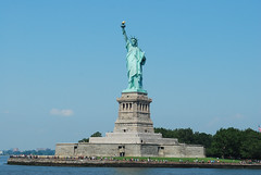 Statue of Liberty with observation deck