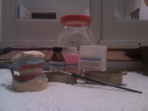 Mecanica Dental: Prótesis Completa de Acrílico