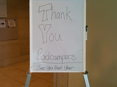 Thank you Podcampers!