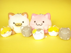 Kawaii Cute Maruneko Club Small Keychain Plush & Mascot Japan (Kawaii Japan) Tags: pink white cute smile smiling animal yellow mobile japan cat shopping asian toy happy japanese store nice stuffed keychain key doll soft pretty phone little character small adorable cell fluffy mini charm goods plush mascot chain collection softie ornament stuff kawaii plushie strap collectible lovely cuteness goodies pompom phonecharm nyanko ballchain japanesestore cawaii japaneseshop maruneko kawaiishopping kawaiijapan kawaiishop marunekoclub kawaiishopjapan