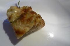Tiborna de queijo de cabra com alecrim e mel