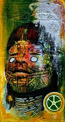 Studio (marciomfr) Tags: brazil painting photography foto arte rabiscos tag tags 420 canvas calligraphy pernambuco pintura indio nordeste tela tipography petrolina riscos xavante izolag studiotela marciofr