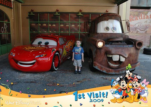 Meeting Lightning and Mater in May