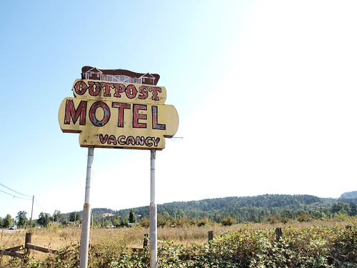 lets get a room at the outpost motel