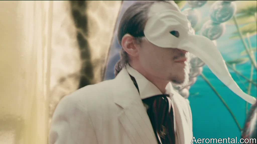 Heath Ledger máscara Imaginarium