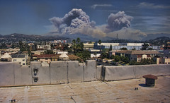 California Wildfires 2009 (@EditorLiam) Tags: california ca wild canada cali fire la hills hollywood wildfire lacanada pyrocumulous