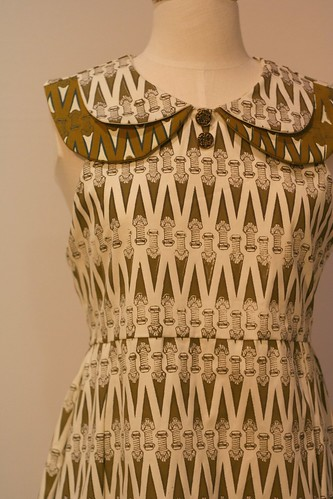Screen-printed Dress in Fine Arts