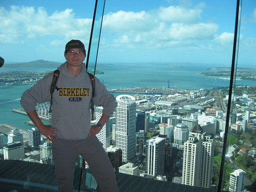 Swiss at the top of Sky Tower