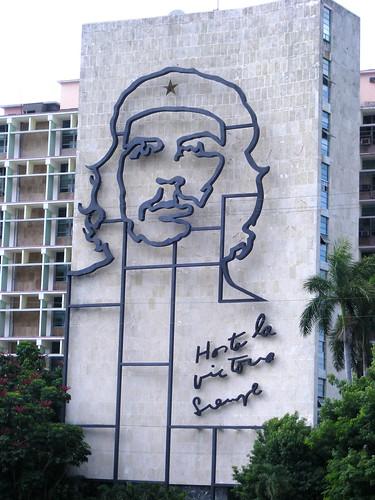Che in Place de la Revolution