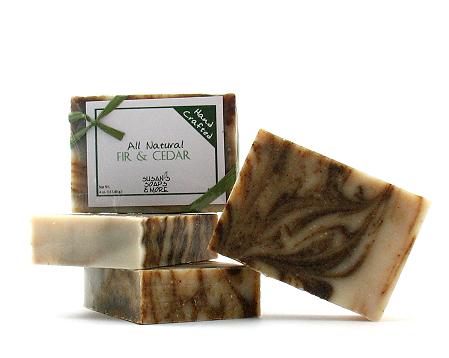 Fir and Cedar Soap