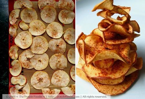 Apples + apple chips