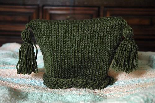 Tassel Baby Hat
