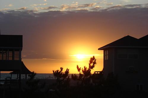 Sunrise at OBX