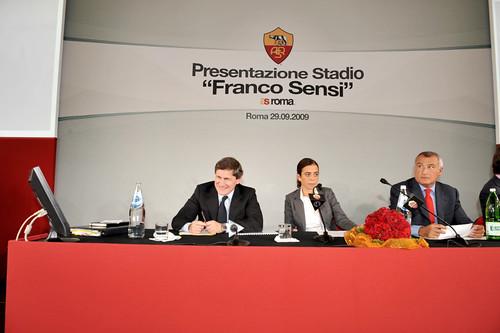Il nuovo stadio dell'A.S. Roma