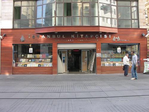 İstanbul kitapçısı