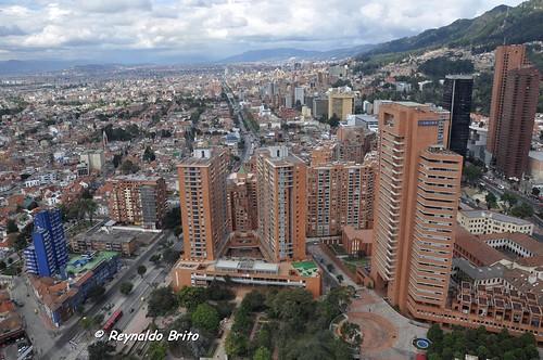 Vista de Bogota desde Centro de Negociaciones