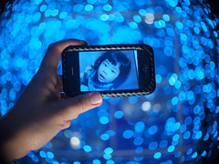 This week on 24/7 Bokeh Life - Blue Bokeh! (rogvon) Tags: hongkong explore frontpage schneiderxenon 25mmf14 rogvon 247bokehlife olympusep1