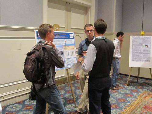 Zeljko presenting a poster at UbiComp2009.