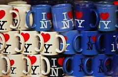 I  NY (Fabio Ricco) Tags: newyork shopping hearts souvenirs manhattan cups cuori ilovenewyork tazze