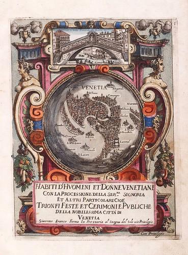 001-Portada-Habiti d'hvomeni et donne venetiane 1609