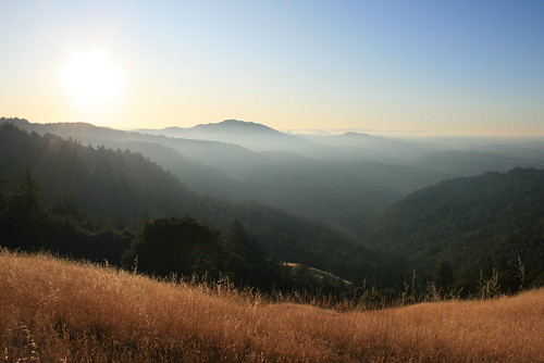 Sunrise Over Humboldt County