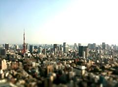【加工済】東京ミッドタウン33階からの景色