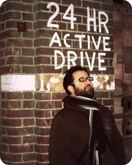 24/7 (Sion+Anton) Tags: nyc portrait newyork beard brickwall iphone 7days gaymale iphoneography sionfullana antonkawasaki 24hractivedrive