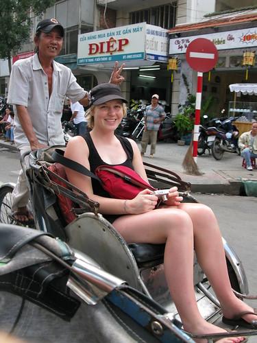 Kate on Cyclo